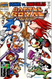 Sonic the Hedgehog Super Special 01 - Sonic Vs. Knuckles: Battle Royale Cover