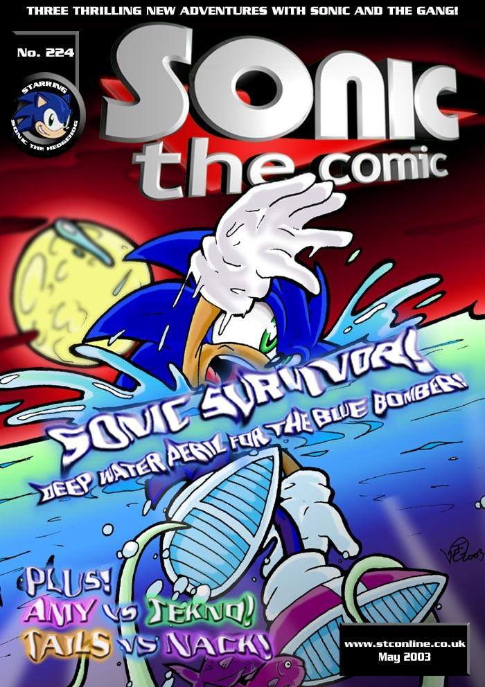 Sonic the Comic Online Issue 001 Cover