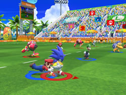 Mario and Sonic at the Rio2016 Olympic Games