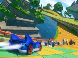Sonic and Sega All Stars Racing Transformed