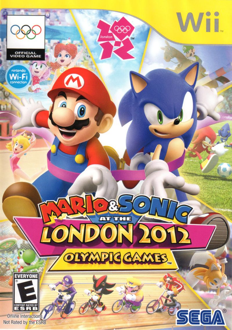 Mario Sonic London 2012 Olympic Games