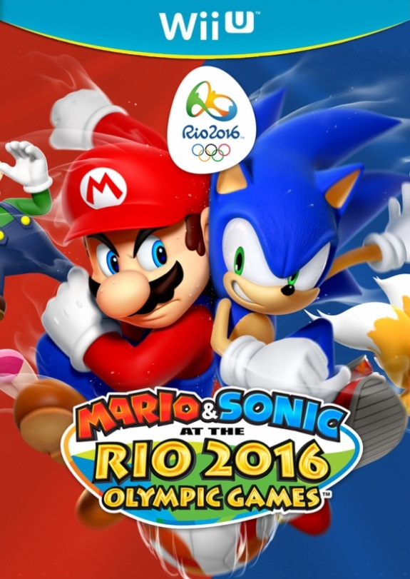Mario Sonic Rio 2016 Olympic Games front cover