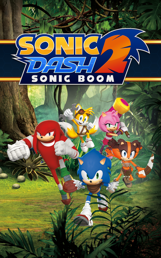 Sonic Dash 2 Sonic Boom front cover