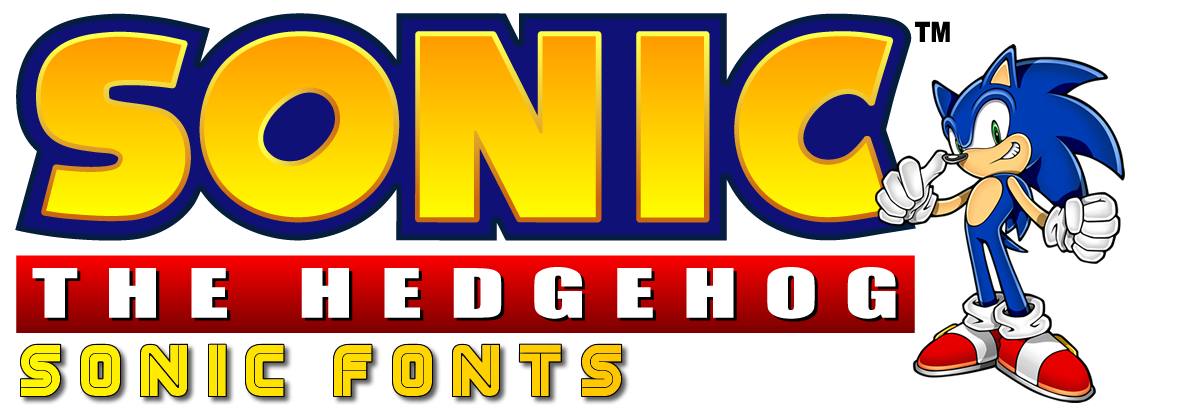Sonic Scene Fonts section header