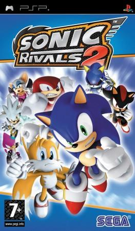 Sonic Rivals 2 PSP Front Cover