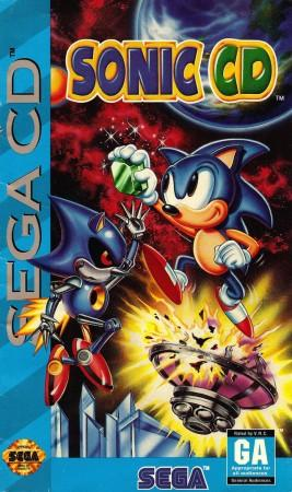 Sonic the Hedgehog CD Front Cover