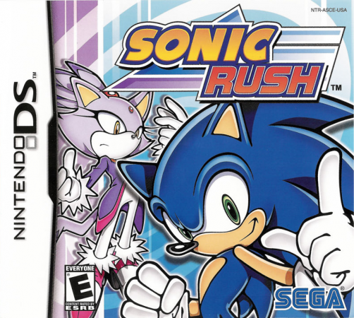 Sonic Rush Front Cover