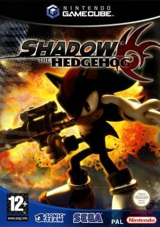 Shadow the Hedgehog front cover