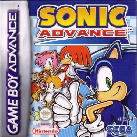 Sonic Advance Front Cover