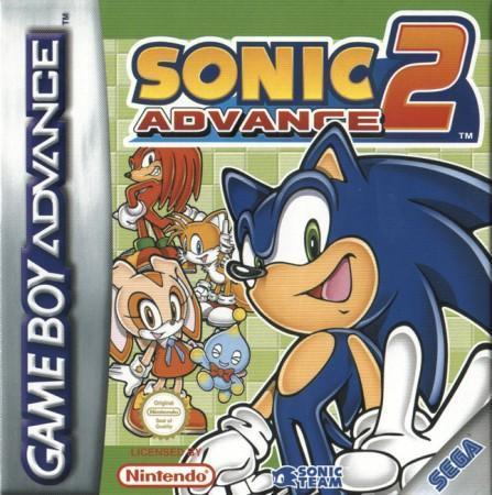 Sonic Advance 2 Front Cover