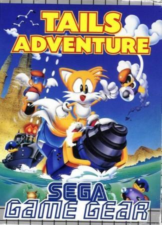 Tails Adventure front cover