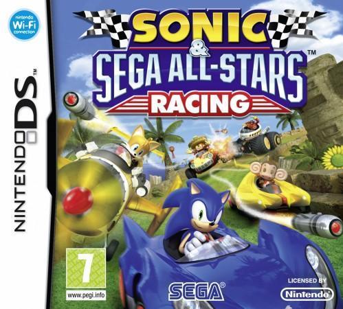 Sonic & Sega All-Stars Racing front cover