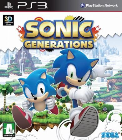 Sonic Generations front cover