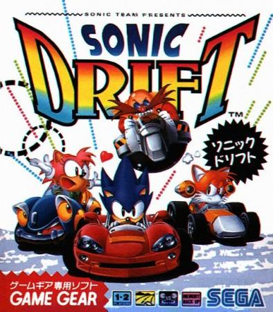Sonic Drift front cover