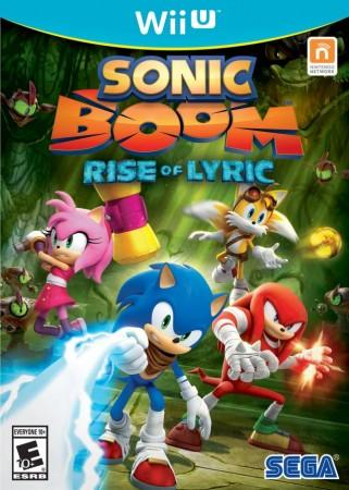 Sonic Boom Rise of Lyric front cover