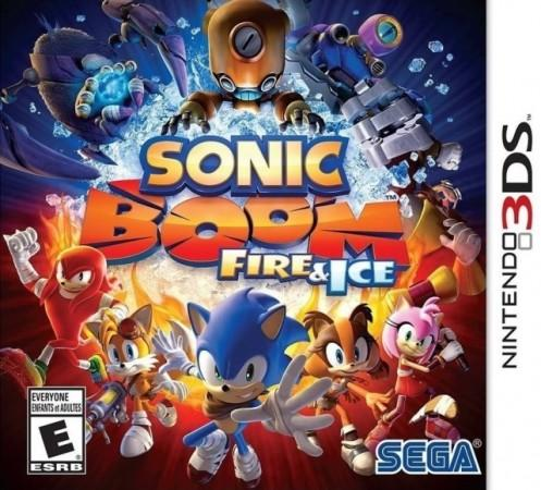 Sonic Boom Fire and Ice Front Cover