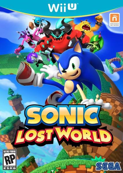 Sonic Lost World Cover
